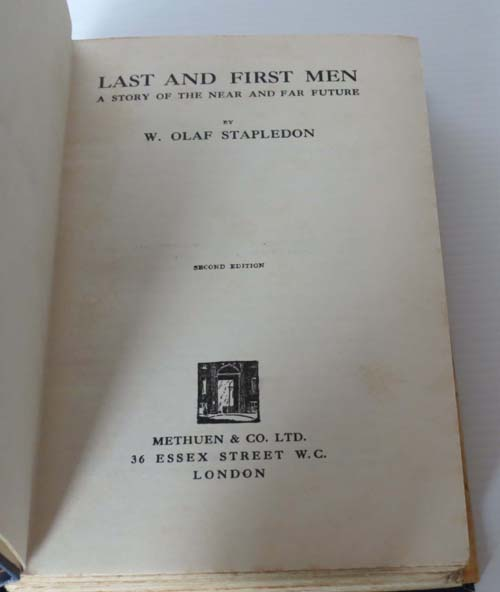 Image for Last and First Men