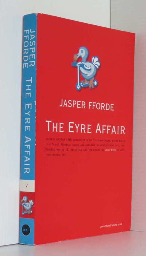 Image for Thursday Next And The Eyre Affair Uncorrected Proof
