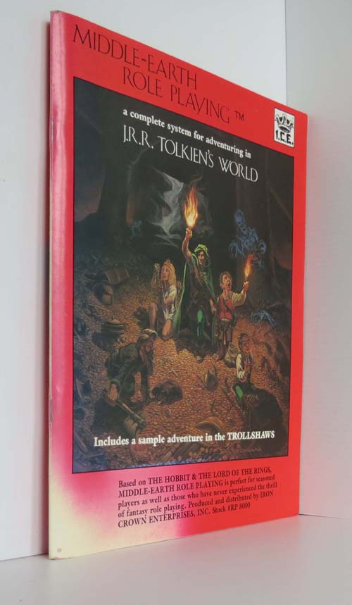 Image for Middle Earth Role Playing: A Complete System For Adventuring In J.R.R. Tolkien's World, Includes A Sample Adventure N The Trollshaws Merpg Mrpg Ice 8000