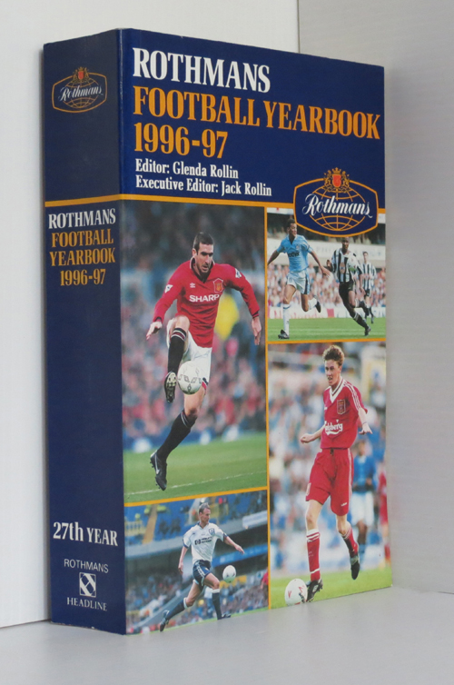 Image for Rothman's Football Yearbook 1996-97
