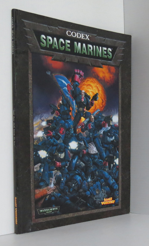 Image for Space Marines Codex Warhammer 40,000 40K