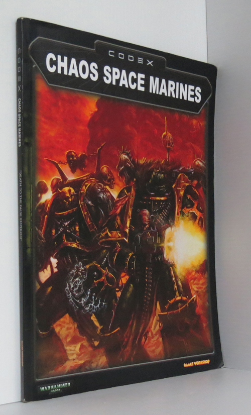 Image for Chaos Space Marines Codex Warhammer 40,000 40K