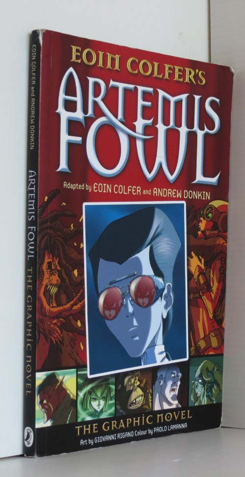 Image for Artemis Fowl: The Graphic Novel