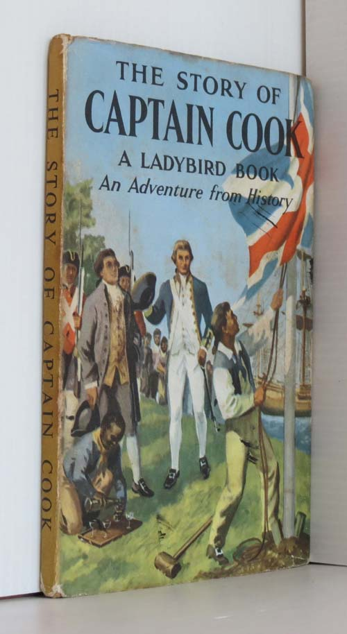 Image for The Story of Captain Cook  (Ladybird 561 Series) 1st ed DJ