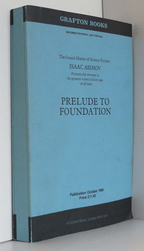 Image for Prelude to Foundation (Scarce uncorrected UK Proof)
