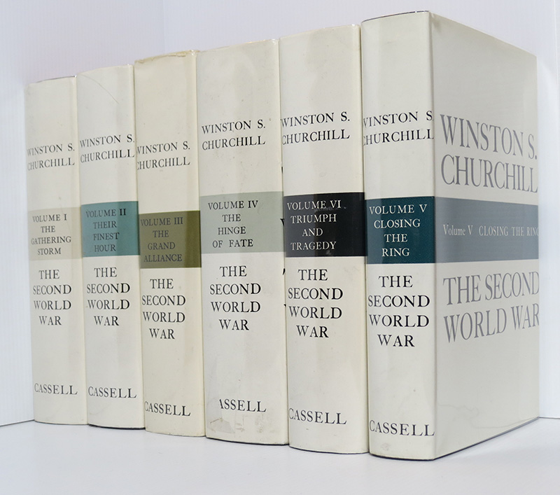 Image for The Second World War (6 Volume Set) : The Gathering Storm; Their Finest Hour; the Grand Alliance; the Hinge of Fate; Closing the Ring; Triumph and Tragedy