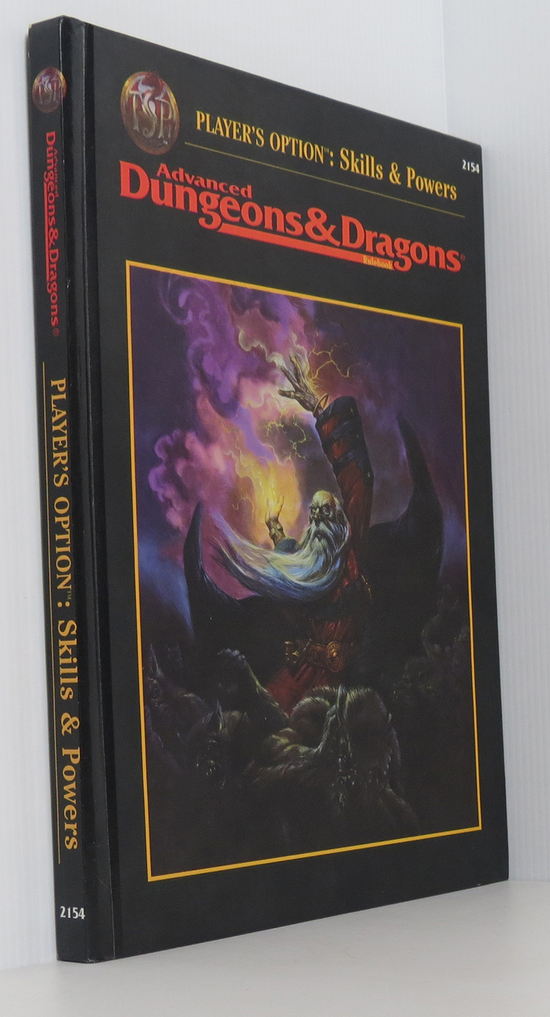 Image for Player's Option: Skills & Powers (Advanced Dungeons & Dragons Rulebook)