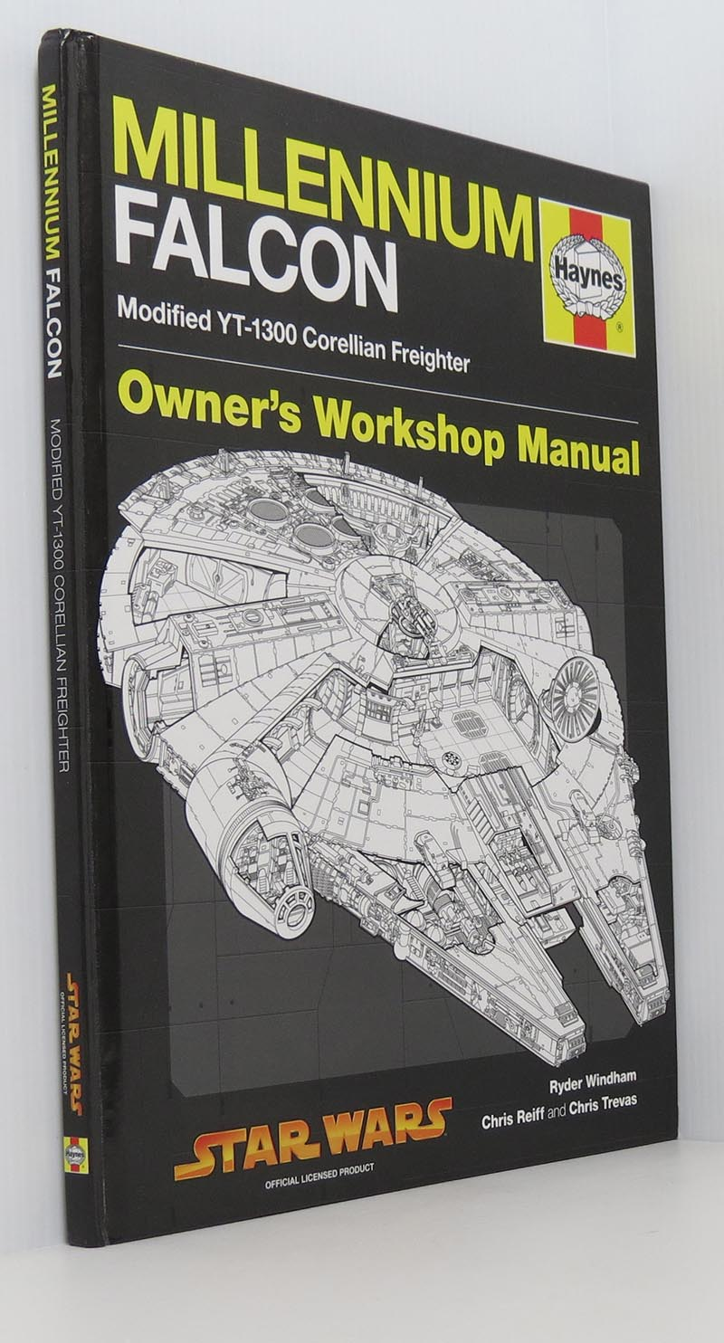 Image for Millennium Falcon Manual Haynes Owners Workshop Manual Modified Yt-1300 Corellian Freighter