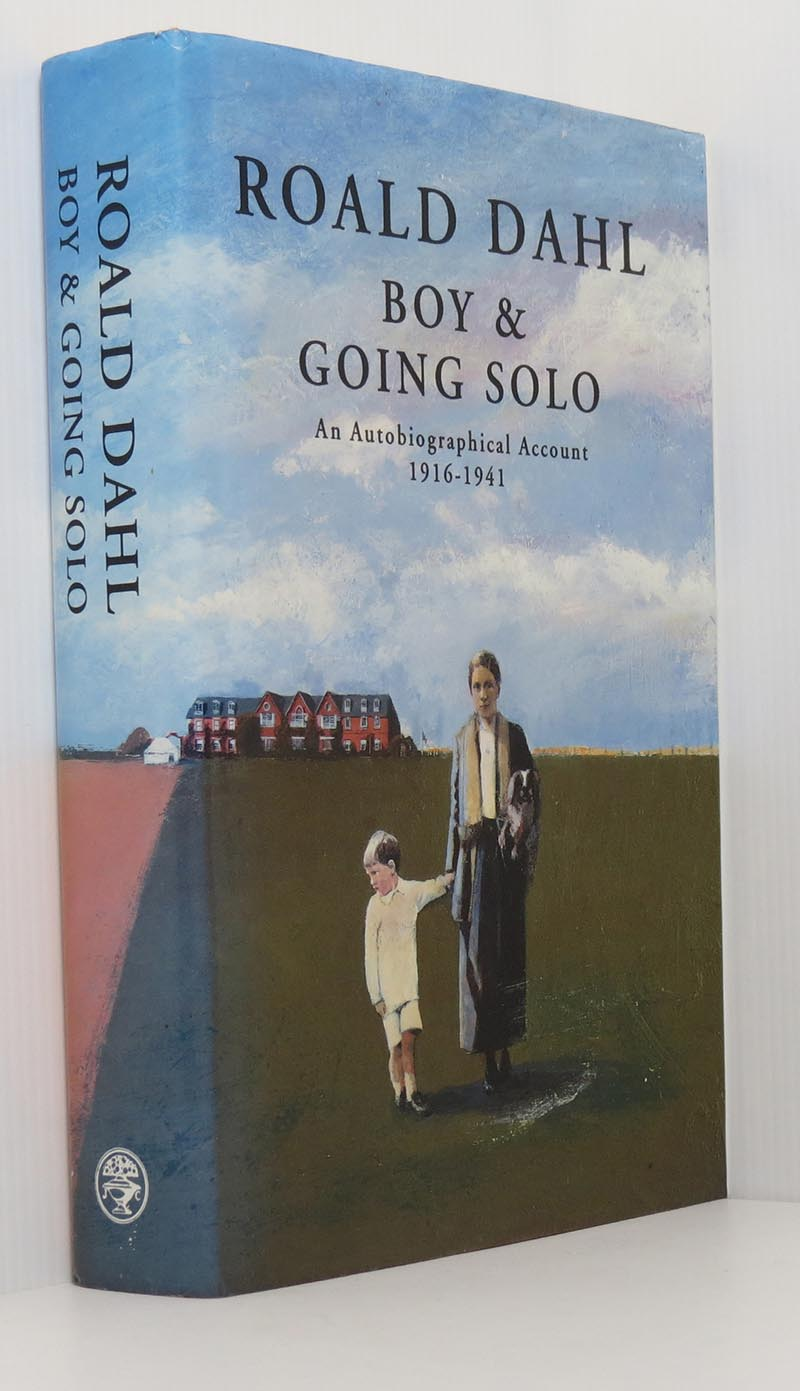 Image for Boy & Going Solo An Autobiographical Account 1916-1941