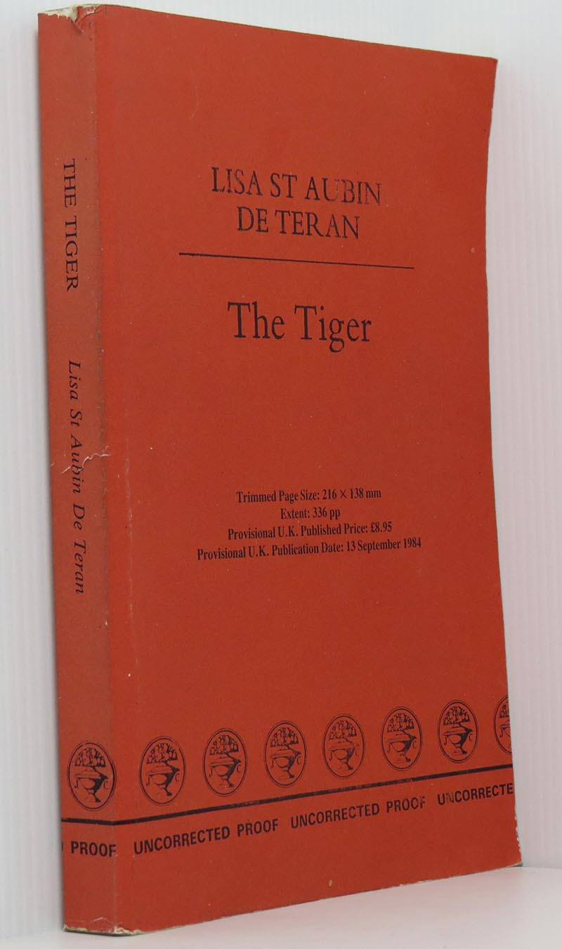 Image for The Tiger (Uncorrected proof)
