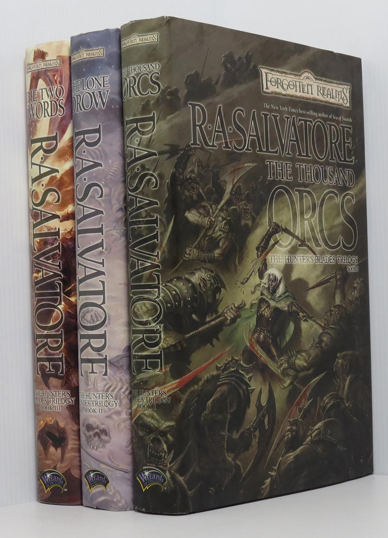 Image for Hunter's Blades Trilogy - Set 3 HB Vols. The Thousand Orcs; The Lone Drow; The Two Swords