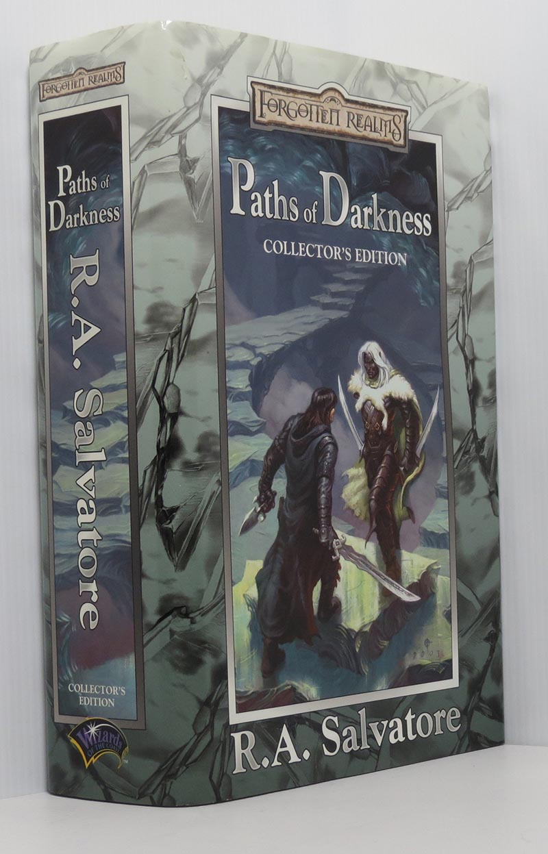 Image for Paths of Darkness, Collector's Edition (Forgotten Realms omnibus of The Silent Blade, Spine of the World, Servant of the Shard, Sea of Swords)