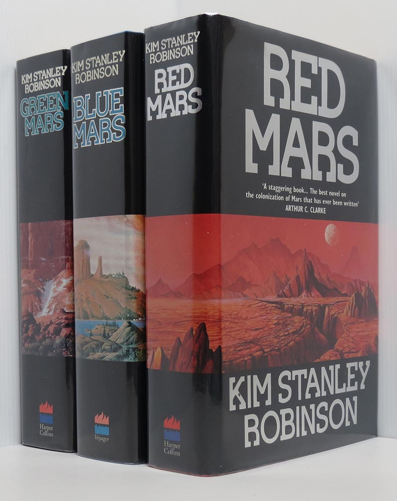 Image for Red Mars, Green Mars, Blue Mars (3 vols 1st/1st all signed)
