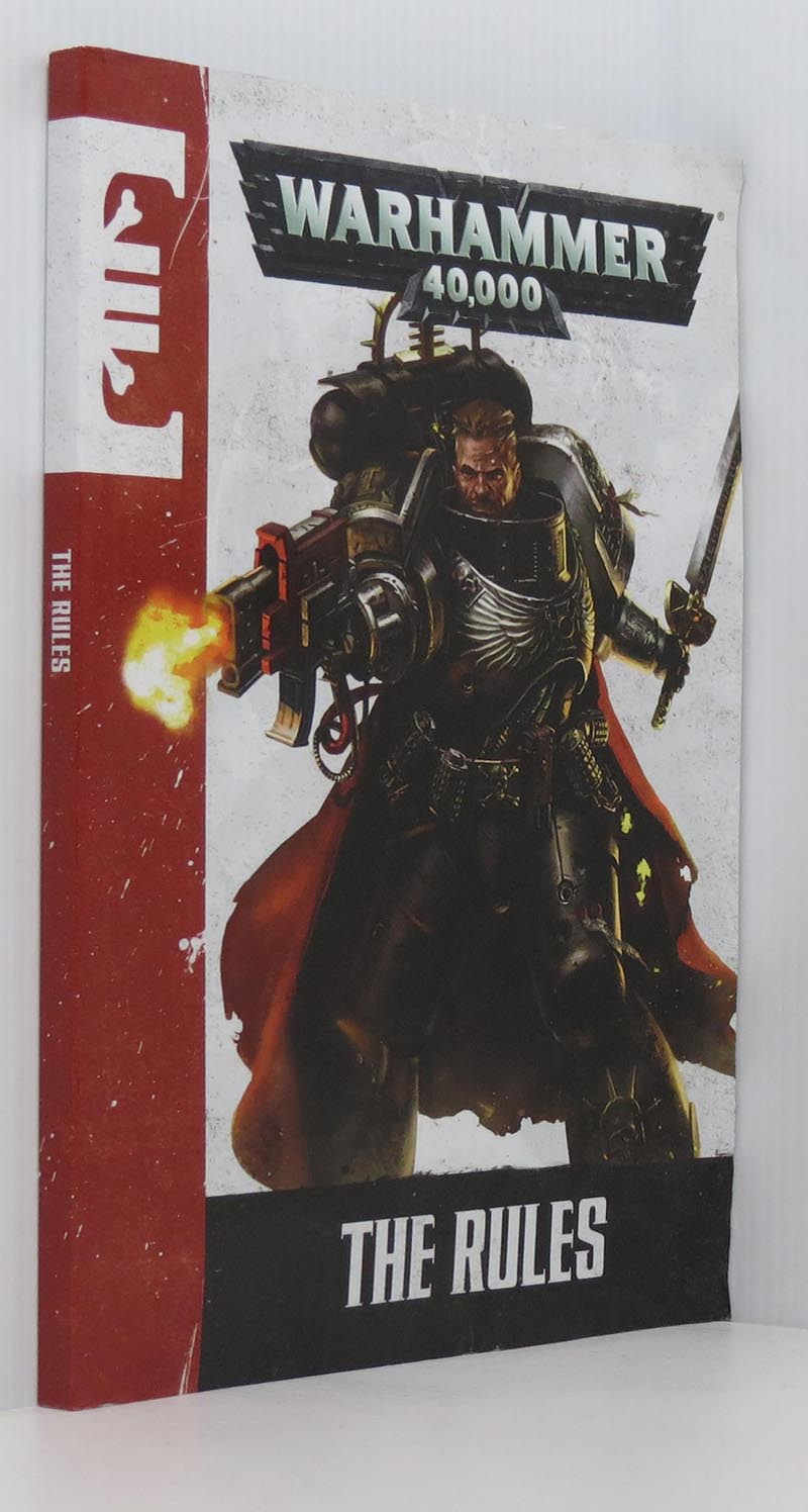 Image for Warhammer 40,000 The Rules Book (2014)