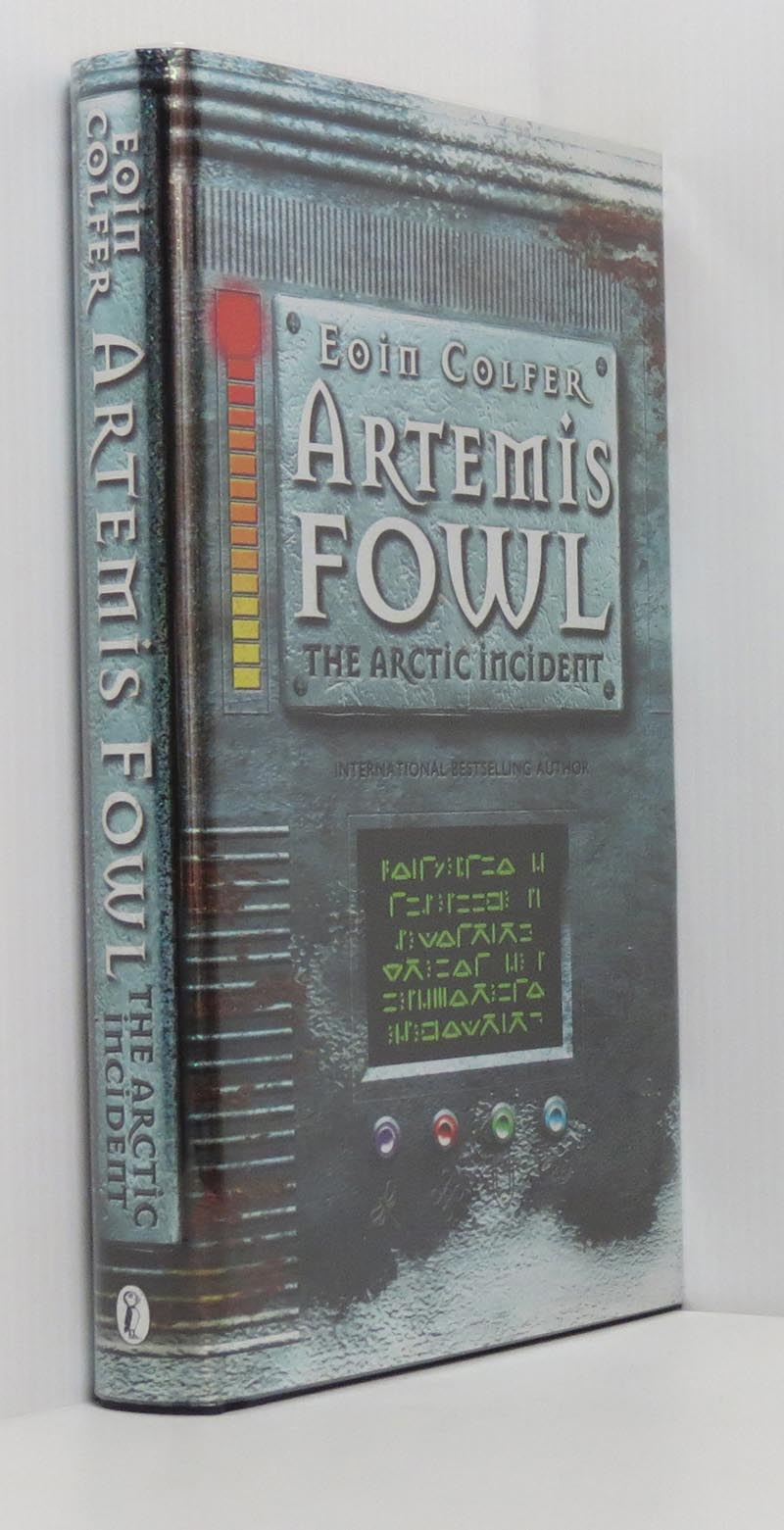 Image for The Arctic Incident Artemis Fowl (Signed)