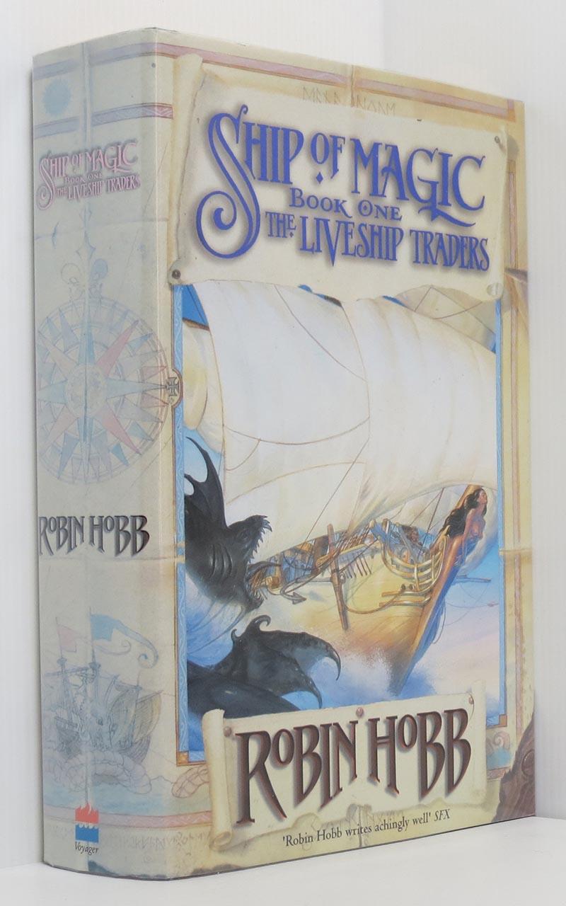 Image for The Liveship Traders Triliogy set: Ship of Magic, The Mad Ship & Ship of Destiny (3 vols 1st Eds.)