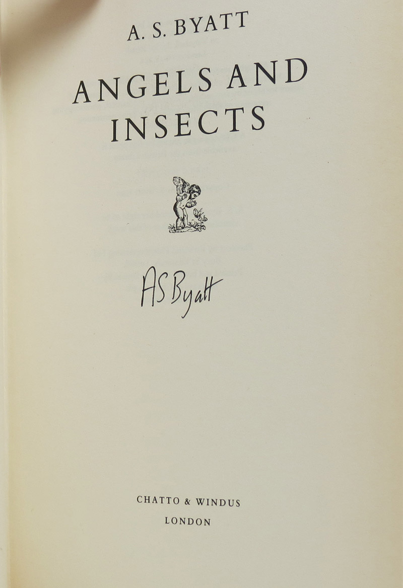 Image for Angels & Insects (Signed)