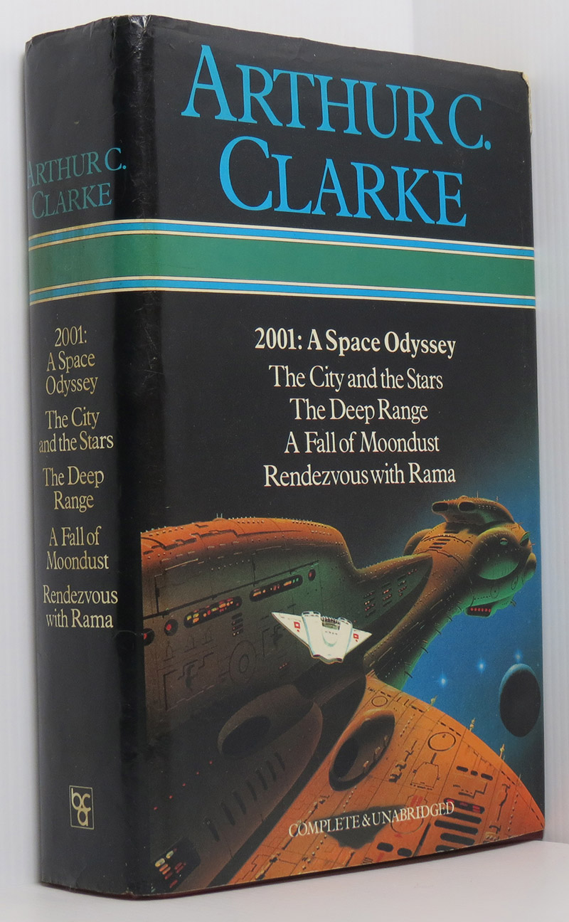 Image for Arthur C. Clarke: 2001 A Space Odyssey, The City and the Stars, The Deep Range, A Fall of Moondust, Rendezvous With Rama