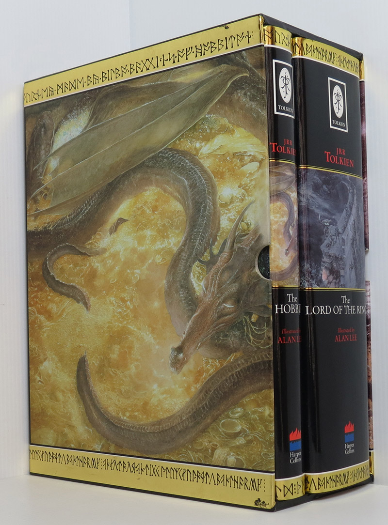 Image for The Lord of the Rings and The Hobbit Boxed Slipcase Set (illustrated Alan Lee)
