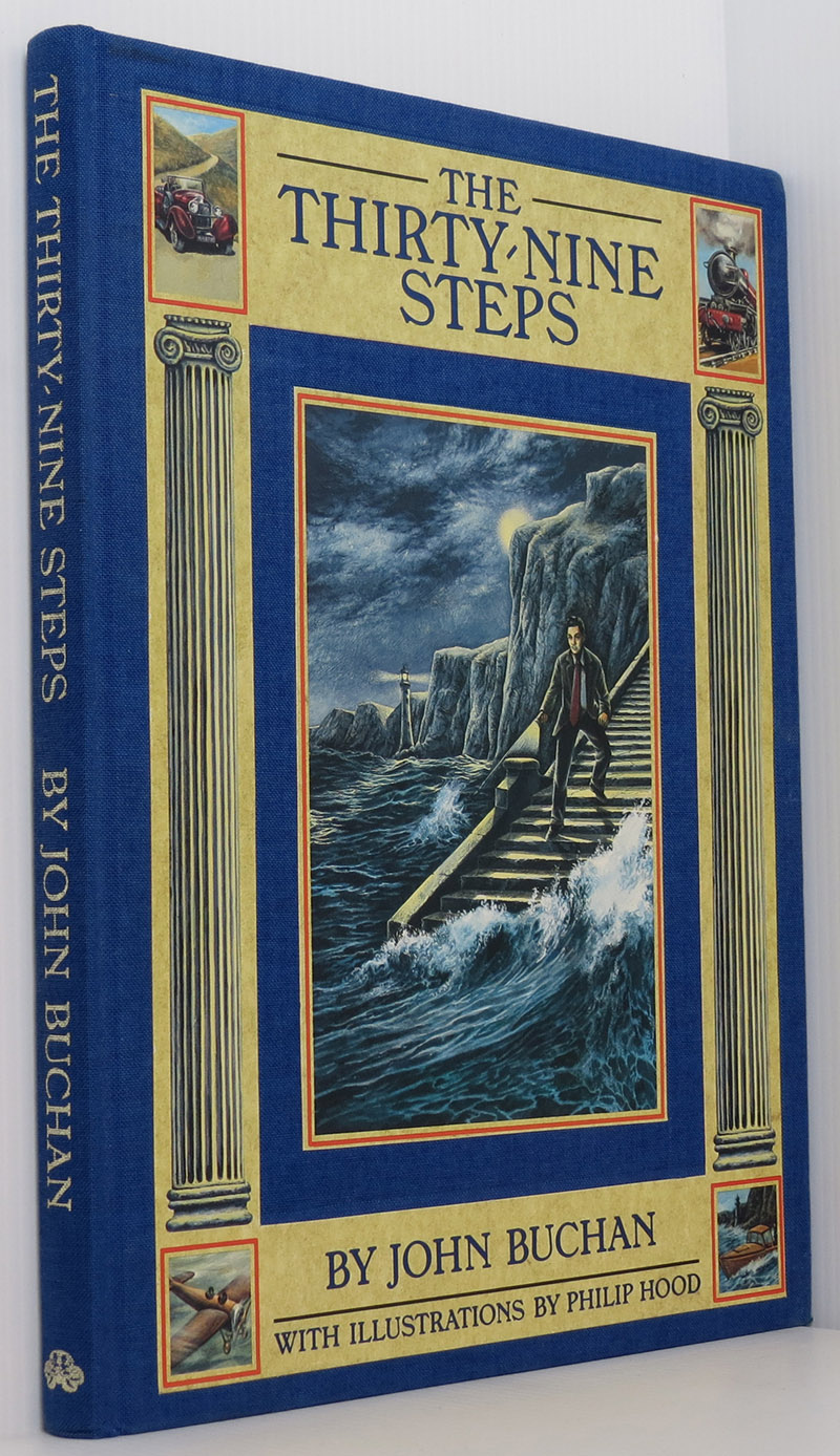 Image for The Thirty-nine Steps (illustrated edition)