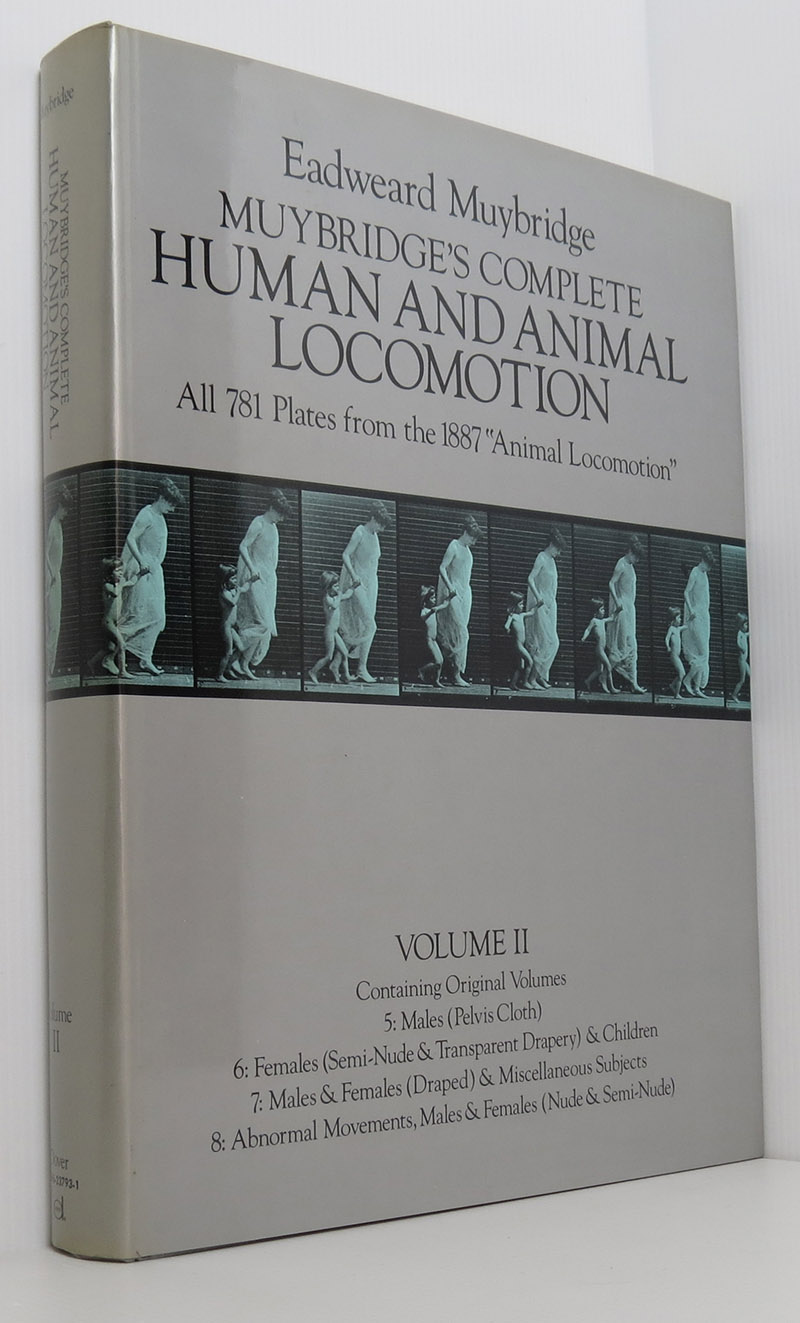 Image for Muybridge's Complete Human and Animal Locomotion (Fine 3 Volume Set all 1st/1st)
