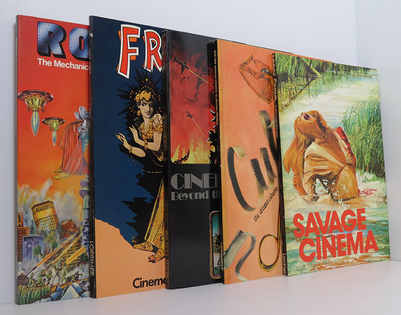 Image for Freaks; Cut; Savage Cinema; Robot; Cinefantastic (5 Vols) Pubished by Lorrimer 1970's