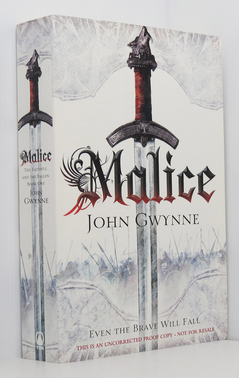 Image for Malice (The Faithful and the Fallen Book 1) uncorrected proof