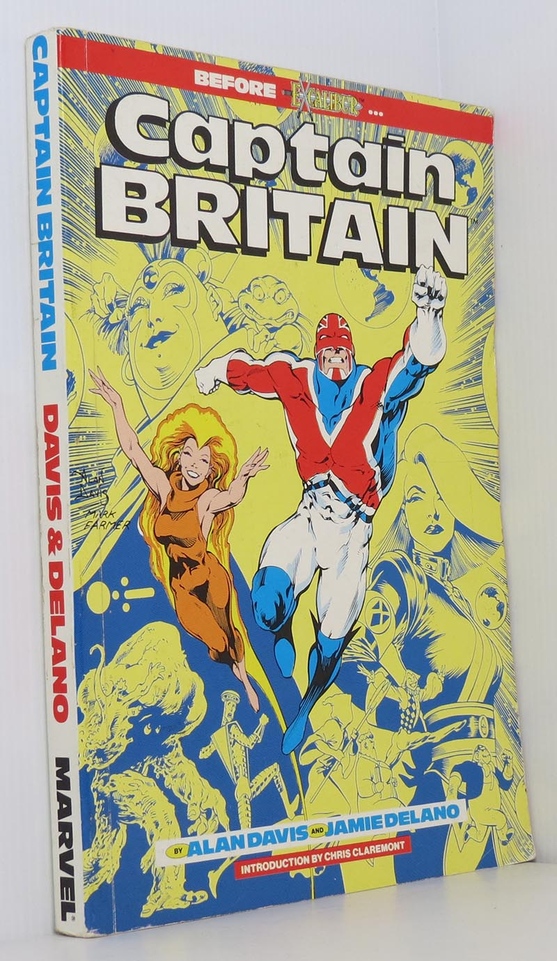 Image for Captain Britain Omnibus Graphic Novel