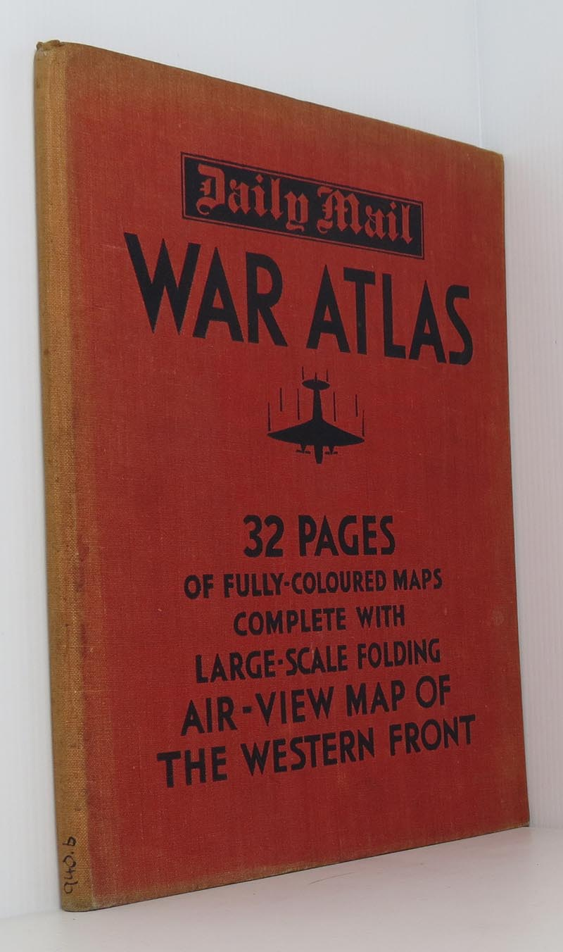 Image for Daily Mail War Atlas (with folding map present)