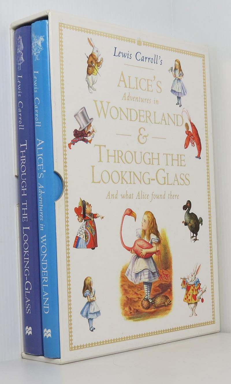 Image for Alice's Adventures in Wonderland & Through the Looking Glass (Boxed Slipcase 2 Book Set)