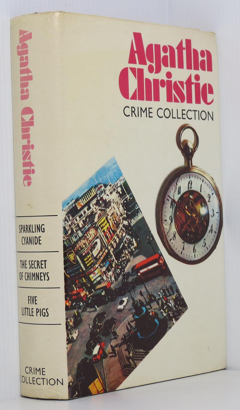 Image for Agatha Christie Crime Collection: Sparkling Cyanide, The Secret of Chimneys, Five Little Pigs